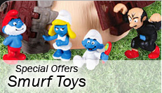 Special Offers - Smurf Toys
