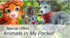 Special Offers - Animals in My Pocket